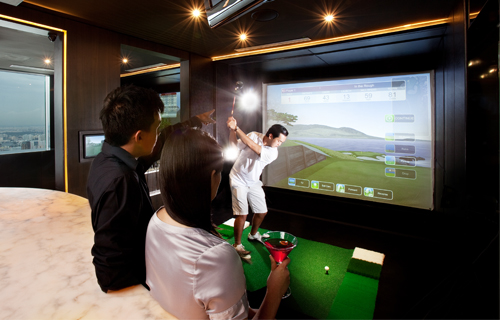 Indoor Golf