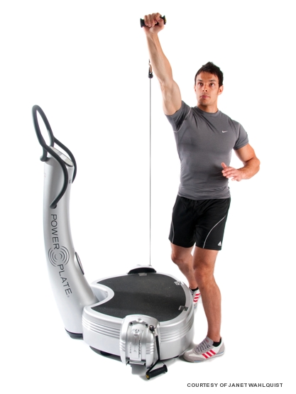 vibration training on the power plate lifestyle asia. Black Bedroom Furniture Sets. Home Design Ideas