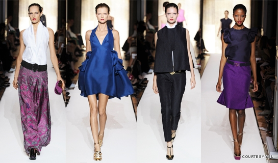 Yves Saint Laurent S/S 2012 for Women - LifestyleAsia Singapore
