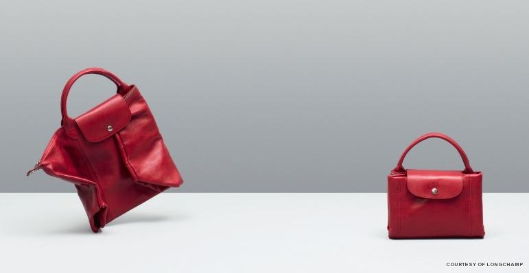 Longchamp Fold Le Pliage Tote Tasche