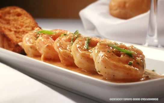 ... New Orleans dishes such as the barbecued shrimp and shrimp remoulade