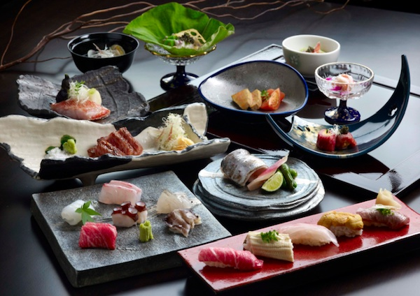 Image gallery japanese fine dining menu for Fine dining food